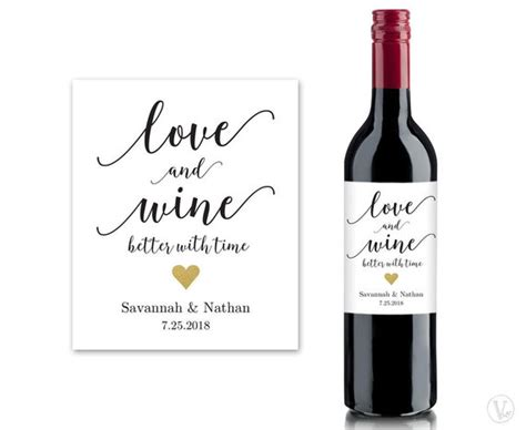 Wine Bottle Labels Printable Wine Bottle Label Template Custom Wine Bottle Label Template