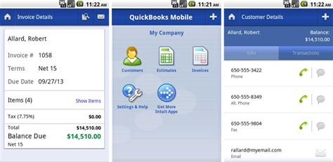 quickbooks for android intuit brings quickbooks mobile to android