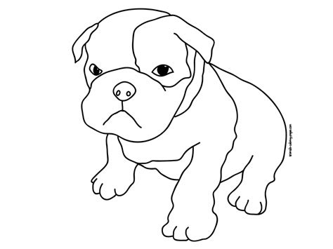 Coloring Pages Of Dogs Animals Online Coloring Pages