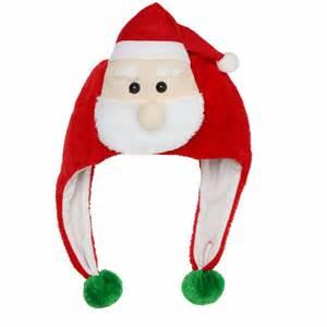 christmas santa hats mens women elf fancy party funny