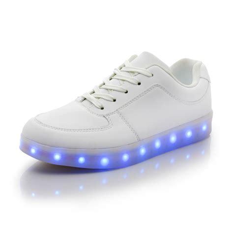 white light up shoes 2015 fashion white led shoes for adults unisex light up