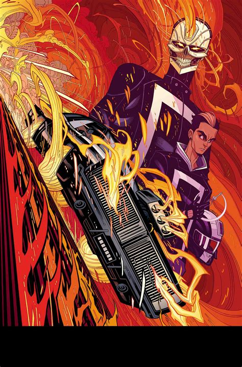 The New Ghost your look at all new ghost rider 1 major spoilers comic book reviews news previews