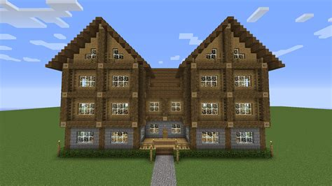 how to build a 2 story house large 3 story mansion showcase minecraft youtube