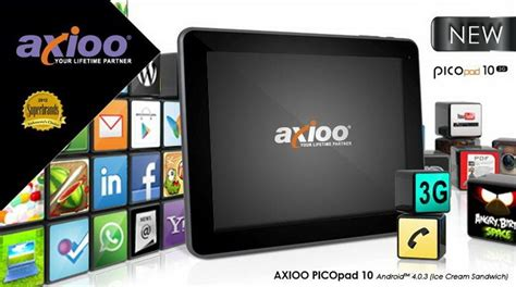 Baterai Tablet Axioo Picopad tablet murah ini punya fasilitas lengkap dimensidata