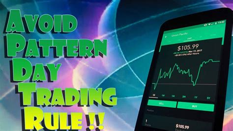 pattern trading robinhood robinhood app how to avoid the pattern day trader rule