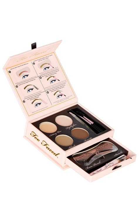 Harga Brow Definition Kit Makeover 17 best ideas about eyebrow stencil on brow
