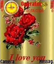 rose themes java download cute rose nokia theme mobile toones