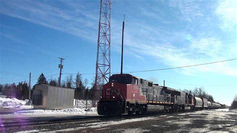 Brunswick Mba Intern by Three Cn Westbounds At Mcgivney New Brunswick 03 14 2015
