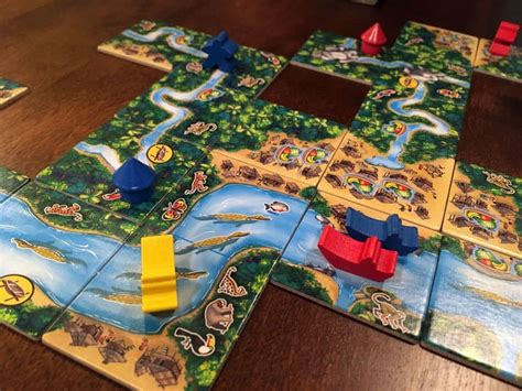 carcassonne amazonas review board quest