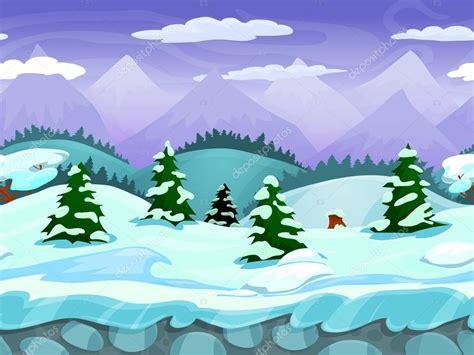 imagenes de invierno dibujos animados paisaje de invierno dibujos animados transparente vector
