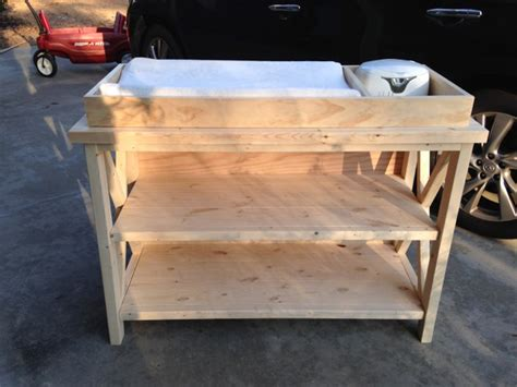 Wooden Change Table Free Baby Changing Table Woodworking Plans