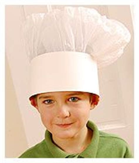 How To Make A Chef Hat With Tissue Paper - 1000 images about hats on coloring pages