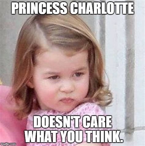Charlotte Meme - princess charlotte imgflip