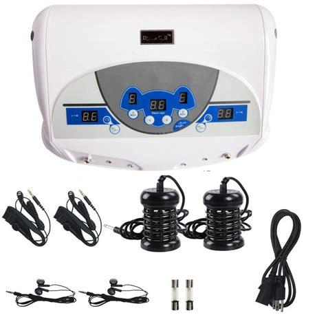 Detox Machine In Marukai Hawaii by Dual User Ionic Detox Machine Foot Bath Spa Tool Lcd W