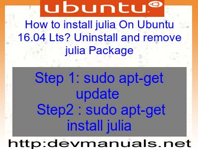 L Package For Ubuntu by How To Install On Ubuntu 16 04 Lts Uninstall And Remove Package