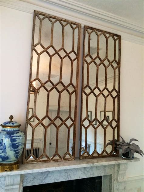 Window Mirrors Decorative by Decorative Architectural Window Mirror Panels Vintage