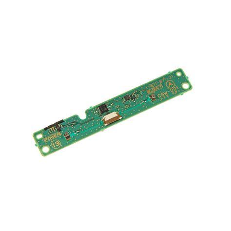 reset video ps3 fat carte power d alimentation eject reset nappe pour