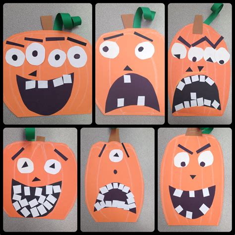 halloween themes for school halloween pumpkin art lesson project special education