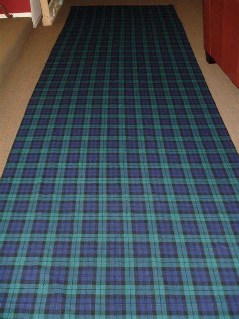 fs plaid tartan recaro seat fabric red  blue