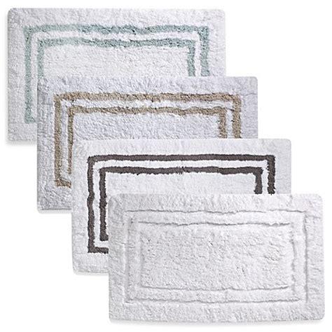 hotel bath rugs wamsutta 174 21 inch x 34 inch hotel spa rug www bedbathandbeyond