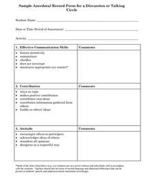 Anecdotal Template by Best Photos Of Preschool Observation Form Template