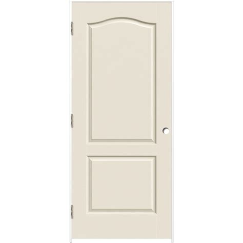2 Panel Arch Top Interior Doors Shop Reliabilt Prehung Hollow 2 Panel Arch Top Interior Door Common 30 In X 80 In Actual