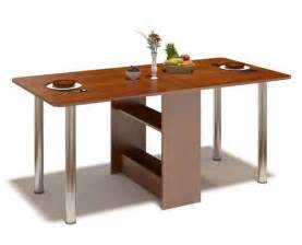 folding dining room tables help save space interior design