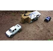 RC ADVENTURES  Trailer Rollover Chevy Duramax &amp Toyota