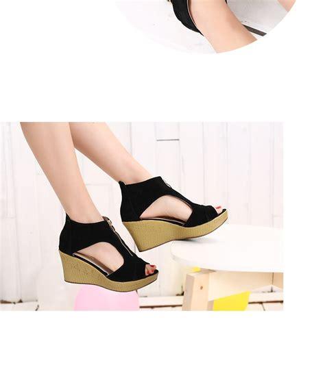 Flat Shoes Vincci 10 New Summer Sandals Vintage High Heeled Wedges