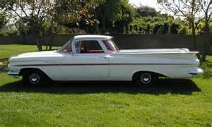El camino pickup barrett jackson lot 53 1 1959 chevrolet el camino