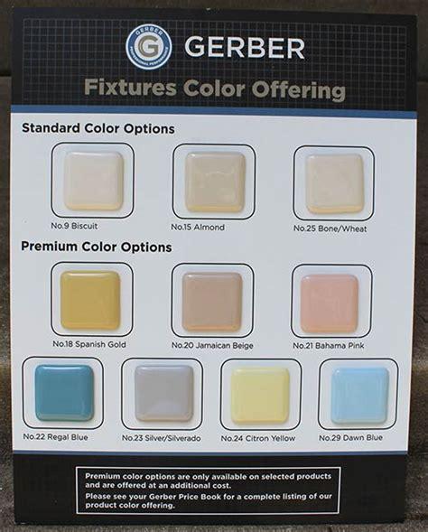 bathroom fixture colors bathroom fixtures in 7 retro colors from peerless plus