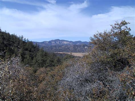 hundred peaks section southern california hiking san rafael peak karen