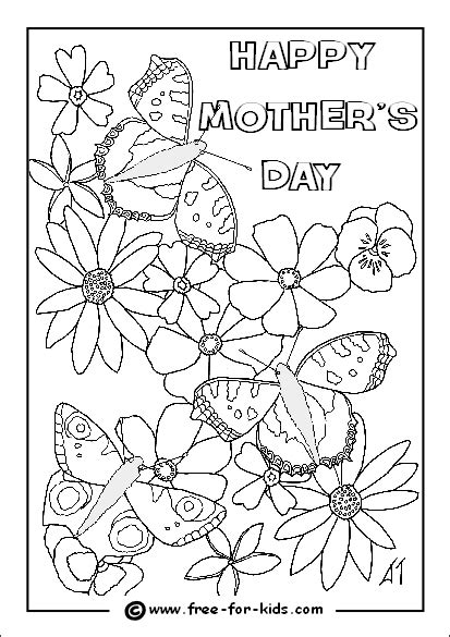 free printable coloring pages mothers day mothers day colouring sheets