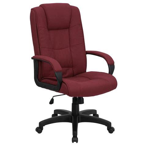 burgundy swivel office chair flash furniture high back burgundy fabric executive swivel