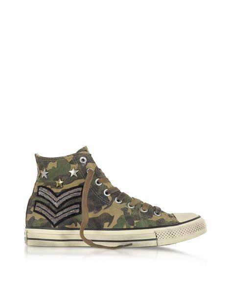 Chuck Canvas Unisex Sneaker lyst converse chuck all high