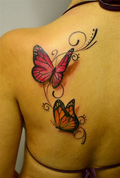 butterfly back tattoo butterfly tattoos askideas