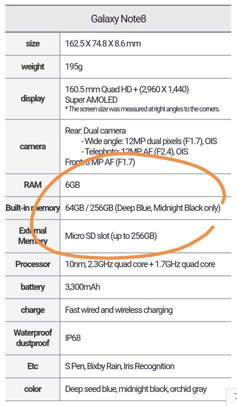 Samsung Note 8 256gb the samsung galaxy note 8 will a 256gb version of the memory downloader apk