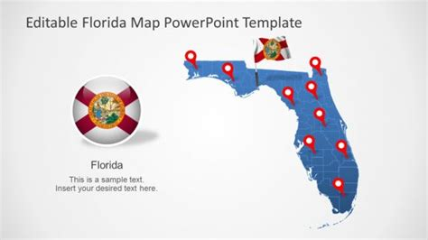 of miami powerpoint template florida powerpoint templates