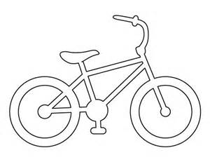 Bike Frame Template by Bike Pattern Use The Printable Outline For Crafts