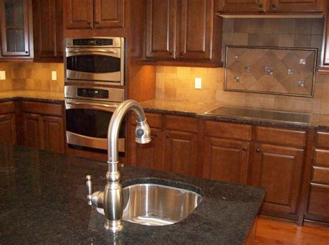 kitchen backsplash design ideas luxury large kitchen design feature square tiles with in