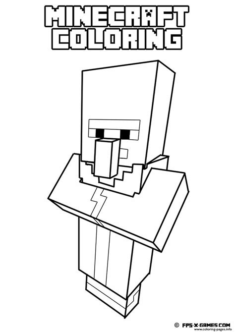 minecraft coloring pages that you can print minecraft coloring kids simple coloring pages printable