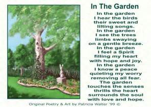 God S Garden Poem By Anonymous » Home Design 2017