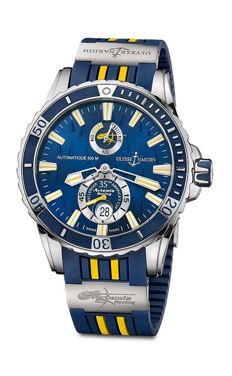 artemis colors the limited edition ulysse nardin artemis racing