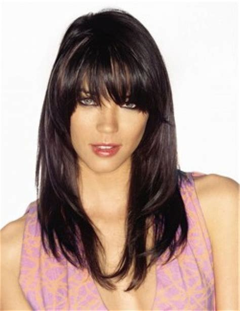 hairstyles with bangs pinterest long hairstyles with bangs and layers 2015 long layered