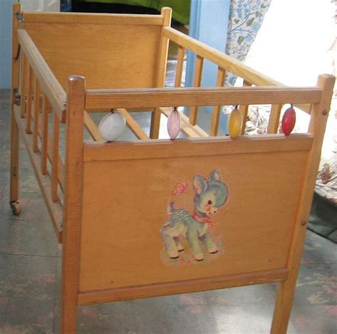 baby beds for dolls 1950 s doll crib childhood childhood memories and nostalgia