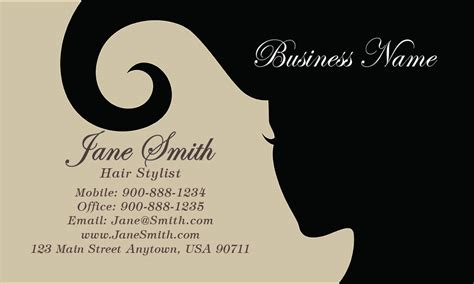 free beautician business cards templates spa and salon business card design 601271