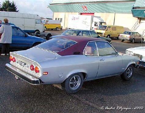 Opel Manta For Sale Usa by Opel Manta A 1900 1973 Usa Spec Rear Three Quarter View