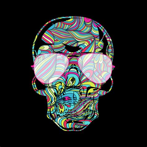 design by humans artist skull color waves by design by humans on deviantart