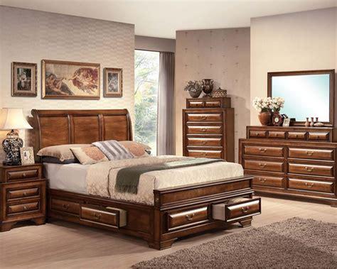 old style bedroom furniture acme bedroom set in antique style konane ac20450set