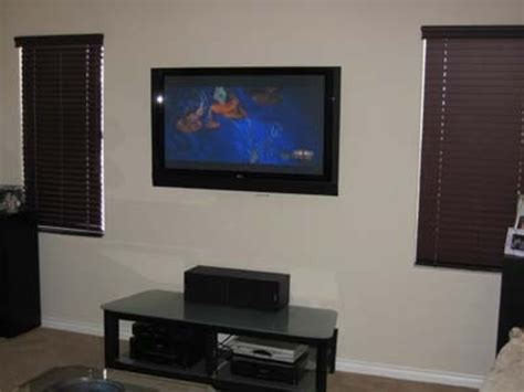 tv on the wall ideas flat screen tv wall mount ideas car interior design